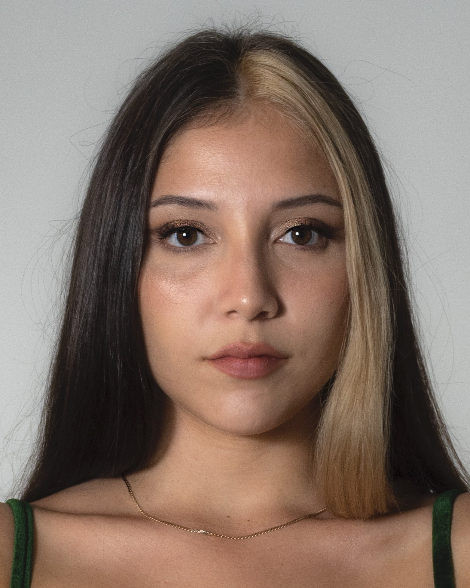 Headshot of Mercedes Ventura, portrait style.